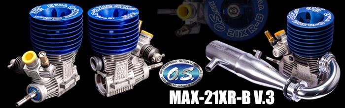 O.S. MAX-21XR-B V.3 Buggy Combo Set