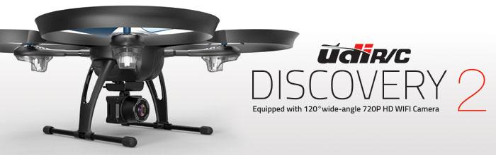 UDI Discovery 2 RTF Drone HD Camera