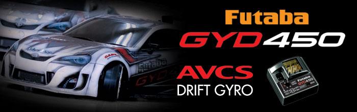 Futaba GYD450 Drift Gyro