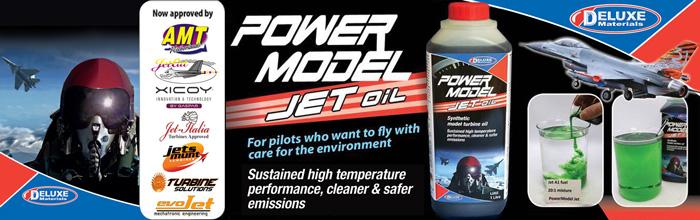 Power Model Jet Oil