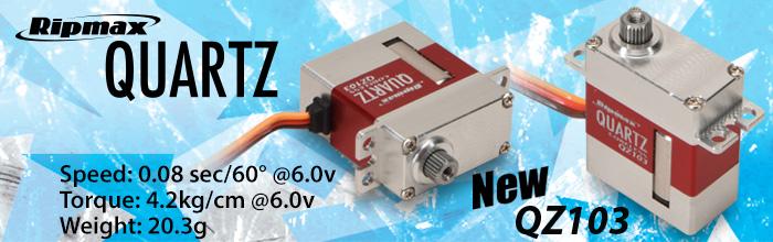 Ripmax Quartz QZ103 Servo